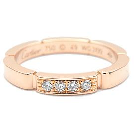 Cartier 4P Diamond Rose Gold maillon panthère Ring