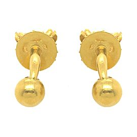 Lalaounis 18 Karat Yellow Gold Bull Head Cufflinks