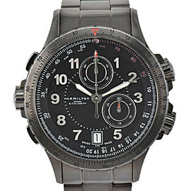 HAMILTON Khaki E.T.O Chrono H776720 Date Quartz Men's Watch