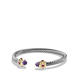 David Yurman Renaissance Bracelet with Amethyst