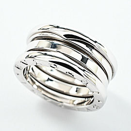 BVLGARI 18k white gold B zero 1 Ring
