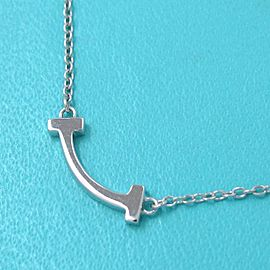 Tiffany T Smile Necklace