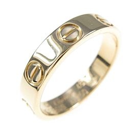 Cartier 18K Yellow Gold Mini Love ring