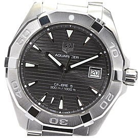 TAG HEUER Stainless Steel/Stainless Steel Aqua Racer Calibre Watch RCB-88