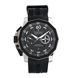 Corum Admirals 50 Left Hand Chronograph Mens 50mm Watch
