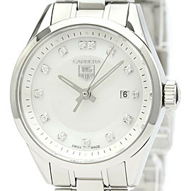 TAG HEUER Carrera Diamond MOP Dial Watch