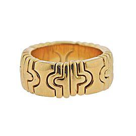 Bulgari Parentesi Gold Band Ring