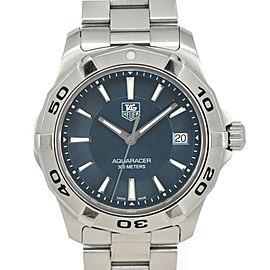 TAG HEUER Aqua racer 300M WAP1112 Blue Dial Quartz Men's Watch