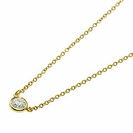 TIFFANY & Co. 18K Yellow Gold By The Yard G-VVS2-EX Necklace TNN-2017
