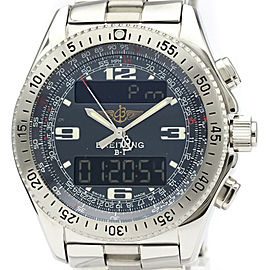 BREITLING Stainless Steel Professional B-1 Watch HK-2410
