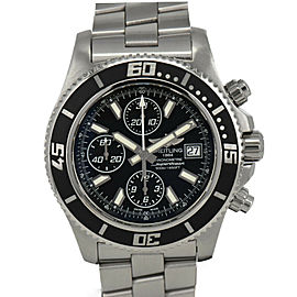 BREITLING Super Ocean A13341 Chronograph black Dial Automatic Men'sWatch