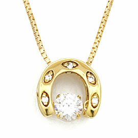 18k yellow gold Diamond Dancing Venetian Necklace CHAT-91