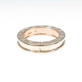 BVLGARI 18K Pink Gold B.zero1 1 Band Ring TkM-364