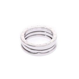 Bulgari 18K White Gold B-Zero 1 Ring Size 6.5