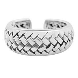 Scott Kay Silver Woven Cuff Bracelet