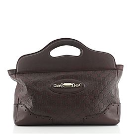 Gucci Punch Top Handle Tote Guccissima Leather Medium