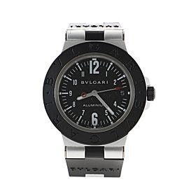 Bvlgari Bvlgari Automatic Watch Aluminum and Rubber 38