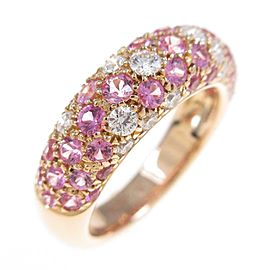 Cartier 18K Pink Gold Mimi Star Ring