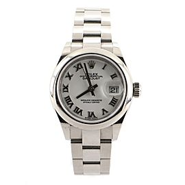 Rolex Oyster Perpetual Datejust Automatic Watch Stainless Steel 28