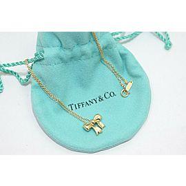 Tiffany & Co. 18k Yellow Gold Ribbon Pendant Necklace TNN-1807
