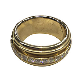 Piaget Yellow Gold Diamond Ring