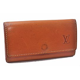 Louis Vuitton Nomade Multicles 4 Four Hooks Key Case Brown