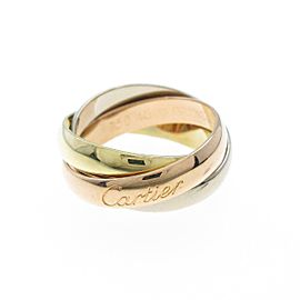 Cartier 18K Pink Gold/18K Yellow Gold/18K White Gold Trinity Classic model Ring TkM-237