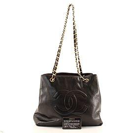 Chanel Vintage CC Chain Tote Lambskin Medium