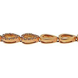 Gold Diamond Citrine Necklace