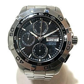 TAG HEUER CAF2010 Aqua racer Stainlees Steel Chronograph Wrist watch