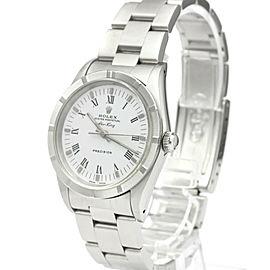 ROLEX Air King N Serial Steel Automatic Mens Watch 14010