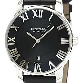 Polished TIFFANY Atlas Dome Steel Automatic Watch Z1800.68.10A10A50A