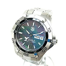 TAG HEUER WAF2012 BA0818 Aqua racer Stainless Steel Maui Limited Oyster Wrist watch RSH-1144