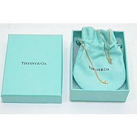 Tiffany & Co. 18k Rose Gold Peretti By The Yard Diamond Necklace TNN-1812