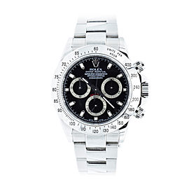 Rolex Daytona 16520 Stainless Steel 40mm Mens Watch