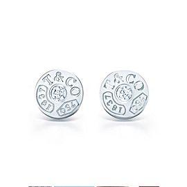 Tiffany & Co. 1837 18K White Gold Diamond Earrings