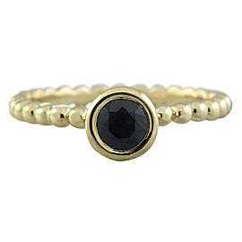 0.50 Carat Sapphire 14K Yellow Gold Ring