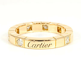 Cartier 18K Rose Gold Diamond Lanieres Ring CHAT-121