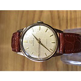 18K SOLID GOLD - MORIS hand winding Watch - SWISS MADE.