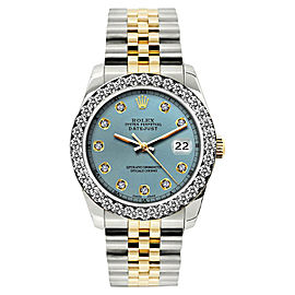 Rolex Datejust 18K Yellow Gold / Stainless Steel Diamond 26mm Womens Watch