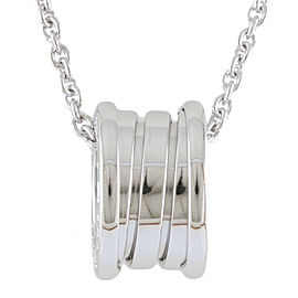 BVLGARI 18K white gold B-zero.1 Necklace CHAT-905