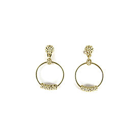 Lagos 18K Yellow Gold Small Covet Circle Earrings