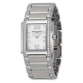 Patek Philippe Twenty-4 4910/1A-011 Stainless Steel & Diamond 25mm Watch
