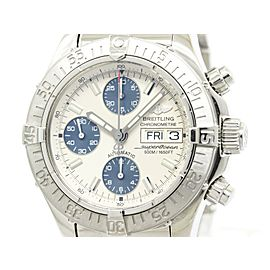 Breitling Chrono Super Ocean Stainless Steel Automatic Mens Watch