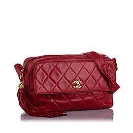 Classic Lambskin Leather Crossbody Bag