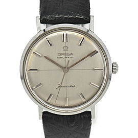 OMEGA Seamaster Cross line Silver Dial Hand Winding Men's Watch