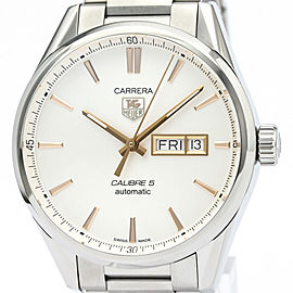 TAG HEUER Carrera Calibre 5 Day Date Automatic Watch WAR201D