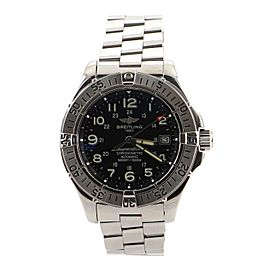 Breitling SuperOcean 1500M Automatic Watch Stainless Steel 42