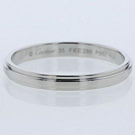 CARTIER Platinum Damour Ring TBRK-651