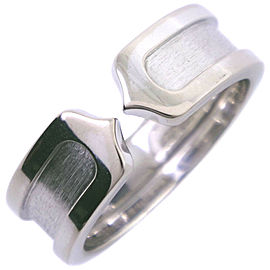 CARTIER 18k white gold C2 Ring